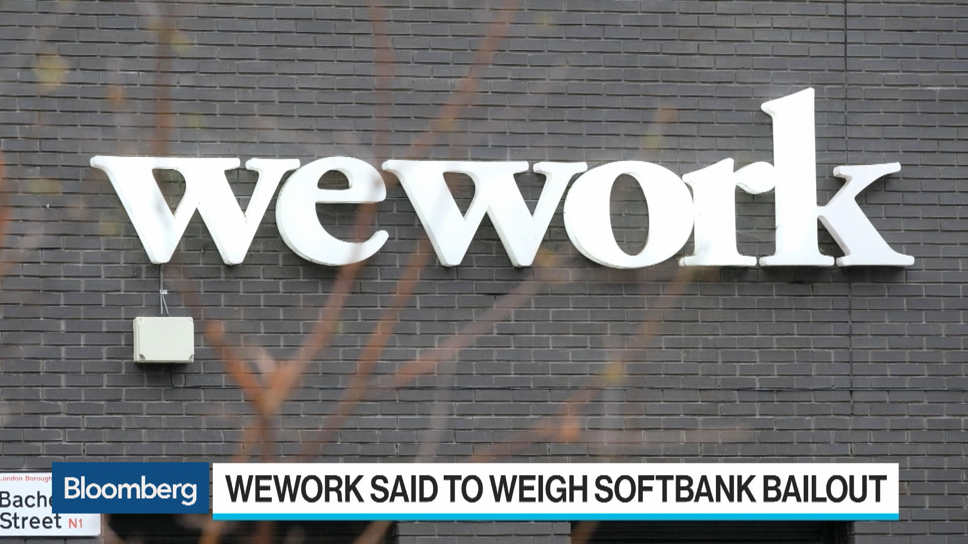 WeWork Weighs Bailout That Hands Control to SoftBank; Backers Also Consider $5 Billion Debt Finance