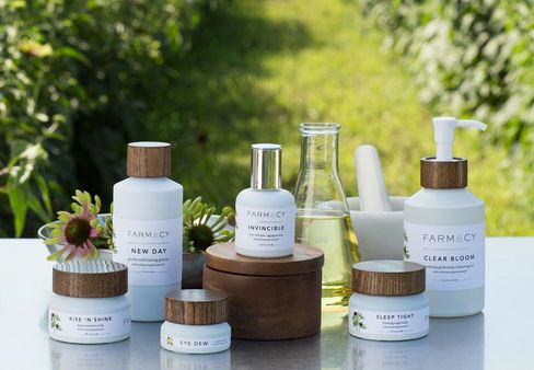 Farmacy's line of beauty products.