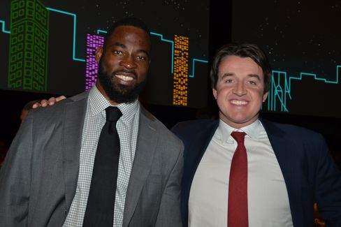 Justin Tuck and Will Blodgett