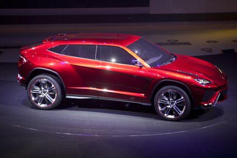 VW's Lamborghini Unveils Urus SUV Concept At Beijing Auto Show