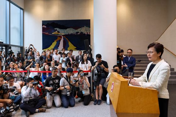 Hong Kong Leader's Retreat Over Bill Fails to Satisfy Protesters