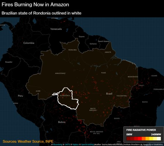 More Fires Now Burning in Angola, Congo Than Amazon: Maps