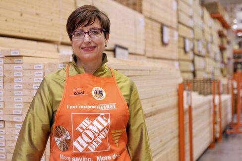 Home Depot CFO Carol Tome