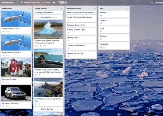 Using Trello to Plan Your Next Vacation (Really)