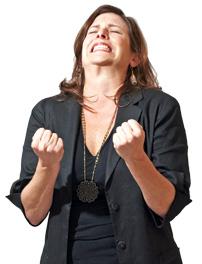 Erica Payne, coordinator of Patriotic Millionaires