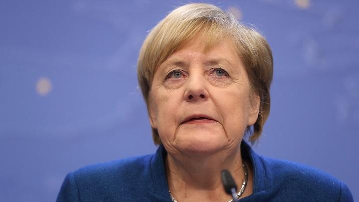 Germany Chancellor Angela Merkel Opens Door to European Banking Union