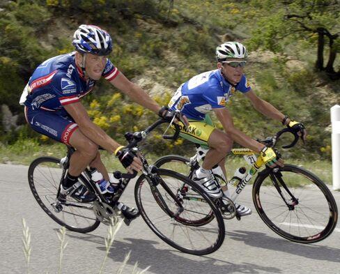 Armstrong Failed Drug Test in 2001, Hamilton Says