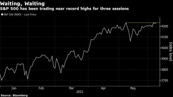 Stocks Close Near Record With CPI, Fed in Focus: Markets Wrap