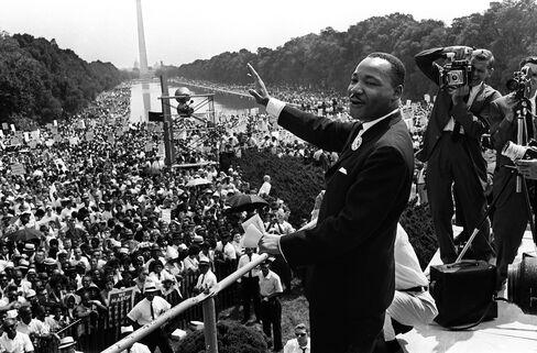Civil Rights Leader Dr. Martin Luther King Jr.