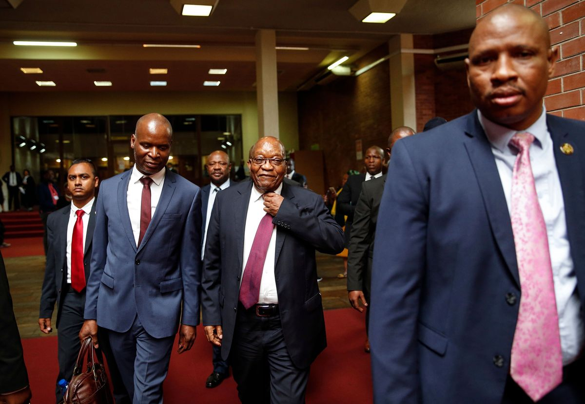 Zuma Stalls South African Graft Trial As He Seeks New Appeal