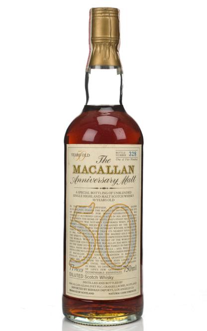 Macallan Anniversary Malt