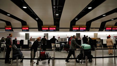 Emirates Check-In Desks
