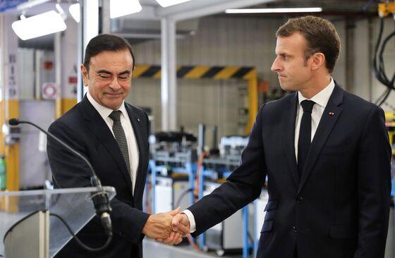 Ghosn's Jail Time Is 'Too Long, Too Hard,' Macron Tells Japan