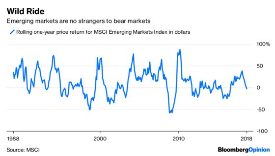 It's Not Time to Hit the Ejector Seat on Emerging Markets