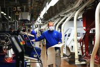 Volkswagen AG Restarts Assembly Lines At World's Largest Car Factory