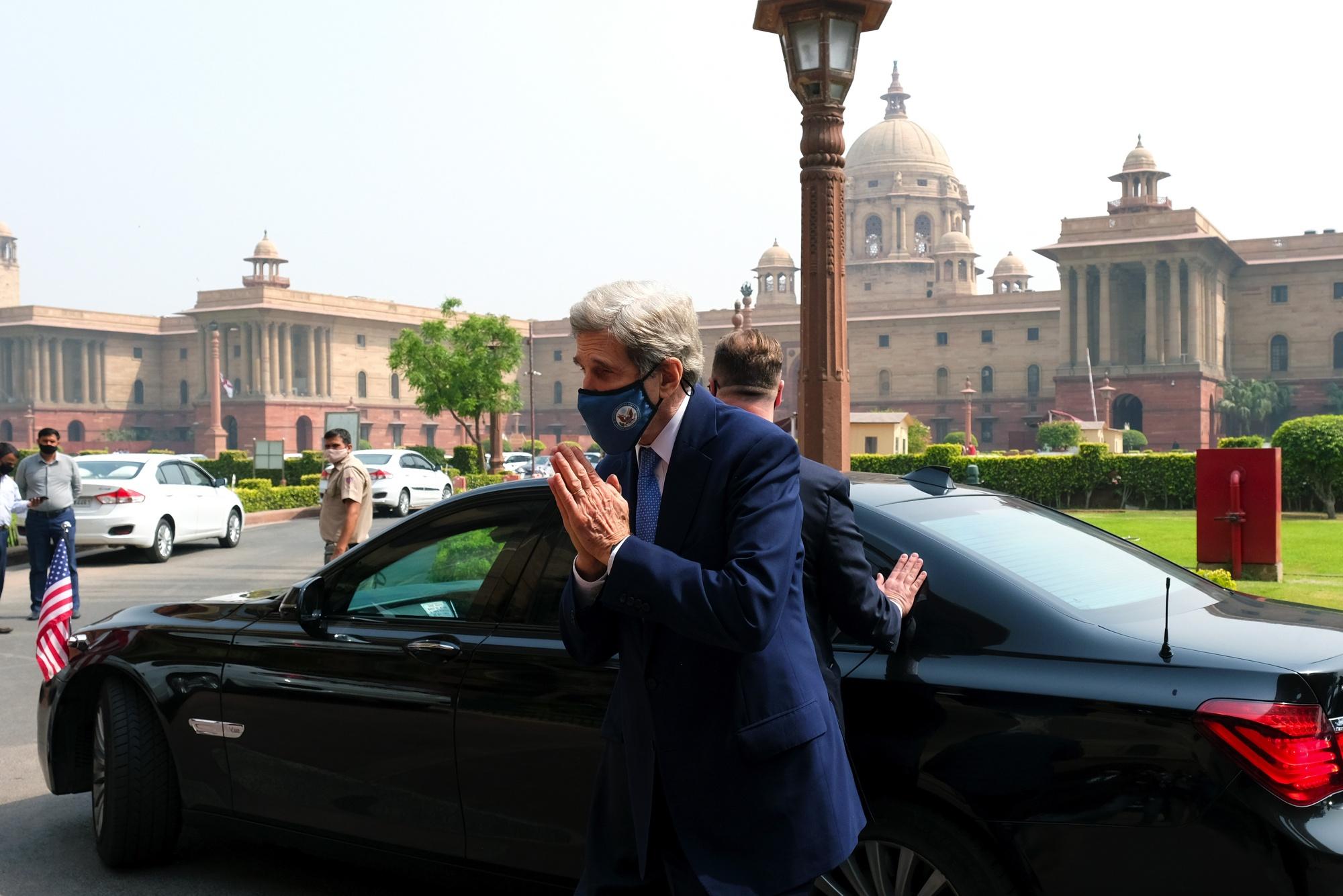John Kerry To Push India on Net Zero Target