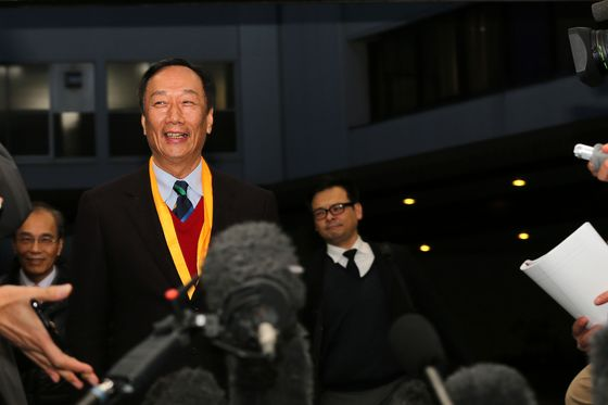 Terry Gou's FII Soars in China Debut After $4.3 Billion IPO