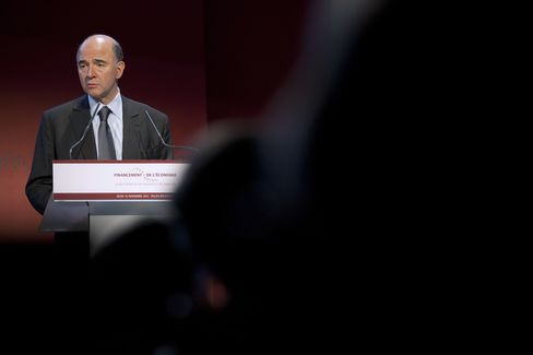 Finance Minister Pierre Moscovici