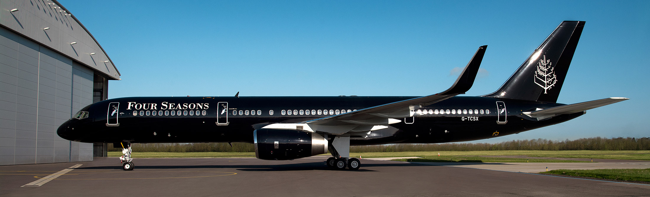 Four Seasons Private Jet Review First Look Inside Newly Branded 757 Bloomberg