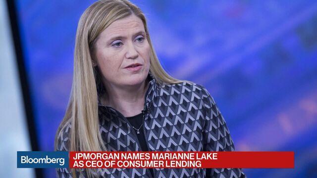 JPMorgan: Jennifer Piepszak CFO, Marianne Lake to Run Consumer