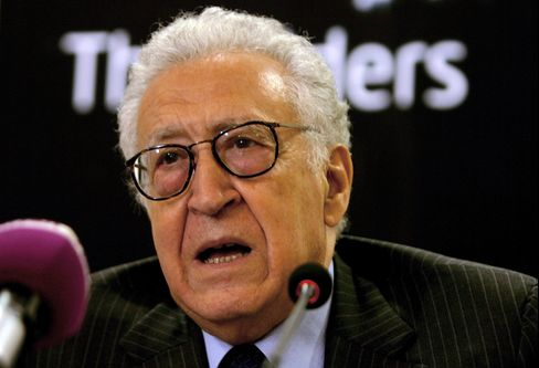 Newly Appointed United Nations Special Envoy Lakhdar Brahimi