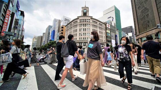 Japanese Merchants' Mood Slides Most in 18 Months on Delta Surge