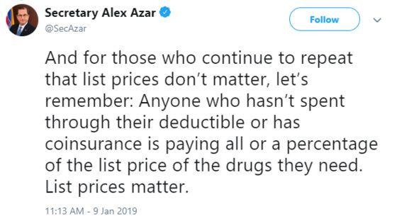 Trump-Inspired Tweets Signal More Drug-Price Pressure