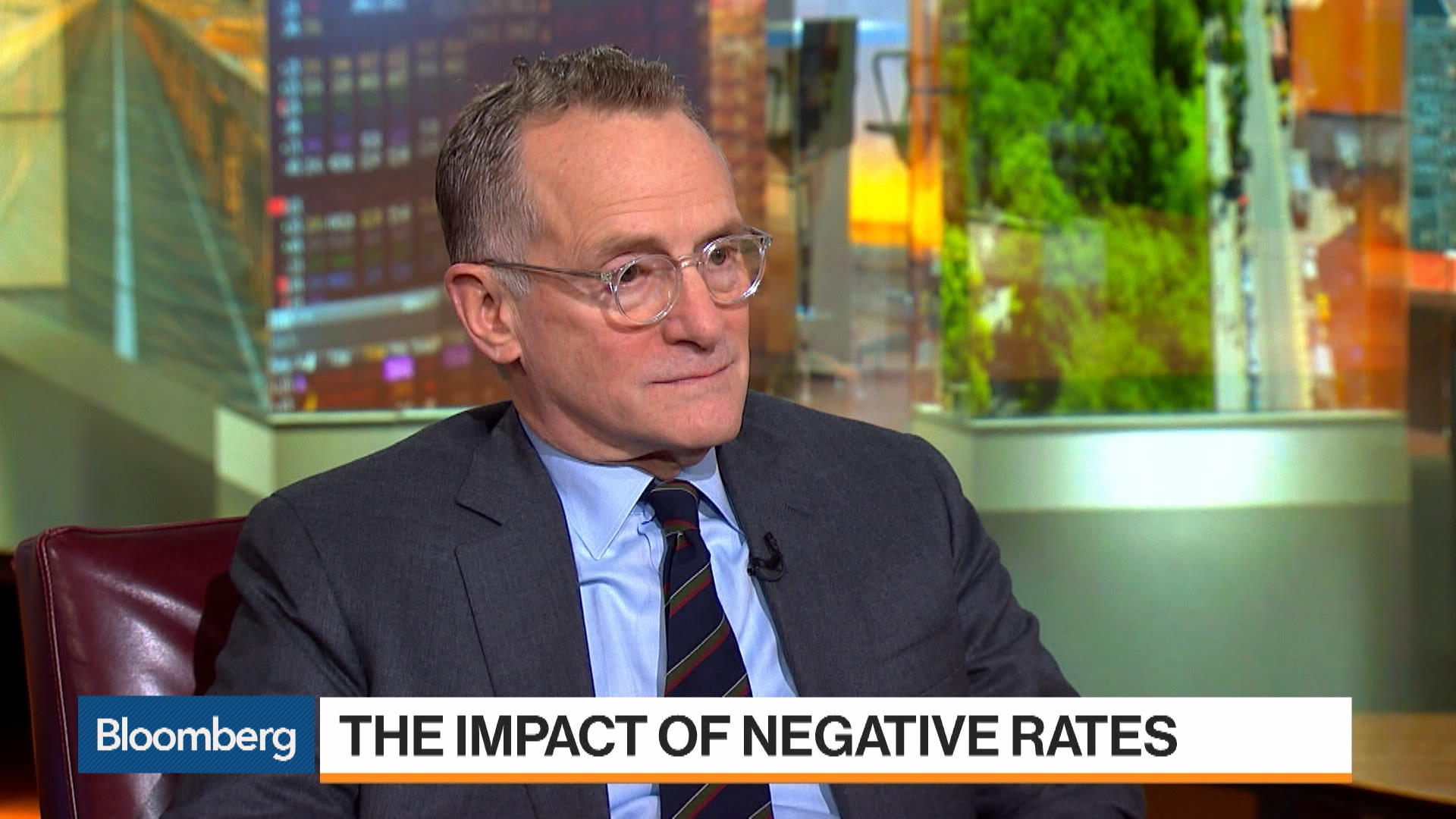 Oaktree Chairman Howard Marks on Negative Rates, Demanding Safety, U.S. Recession