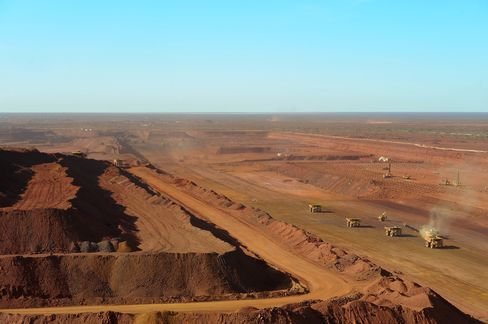 Iron Ore Operation in the Pilbara