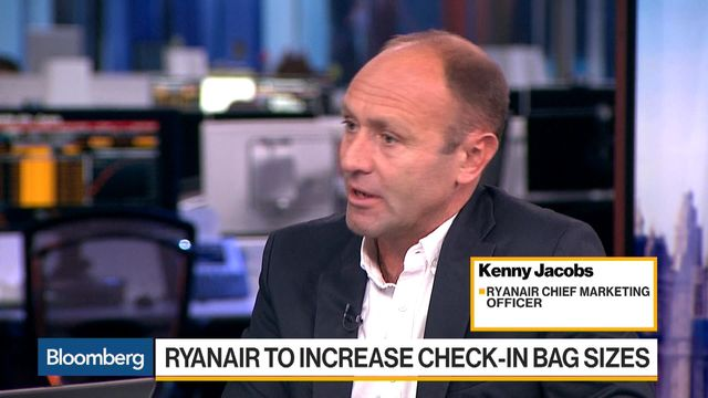 Ryanair is making a big change to its cabin bag allowance