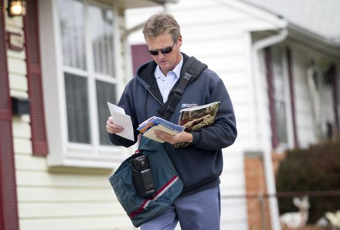 Roy Sipe Delivers Mail in Virginia
