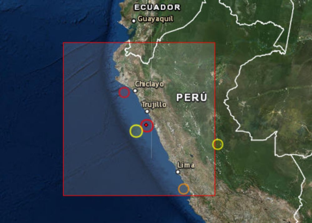 Magnitude 8.0 Earthquake Hits Northern Peru Near Metal Mines