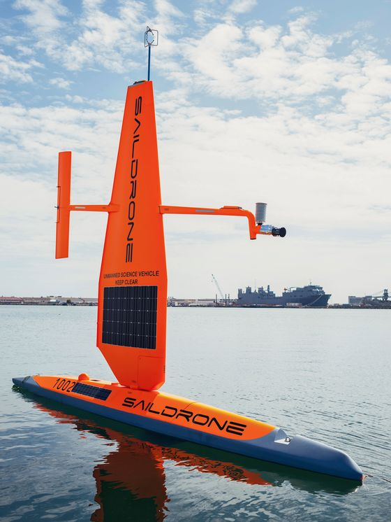 Saildrone's Journey Around Antarctica Uncovers New Climate Clues