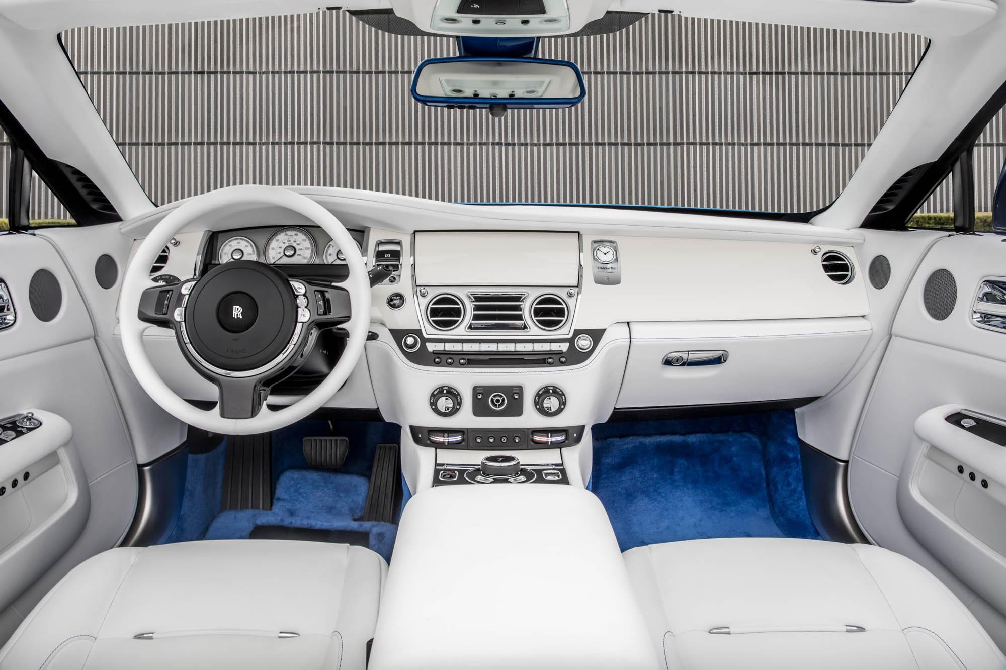 The Michael 'Fux Blue; Rolls-Royce Pebble Beach Dawn