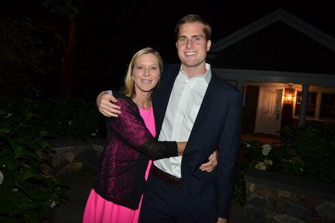 Lee Woodruff and her son Mack
