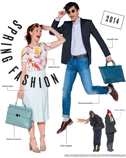 2014 Spring Fashion Roundup: 175 Ways to Break Out of Winter