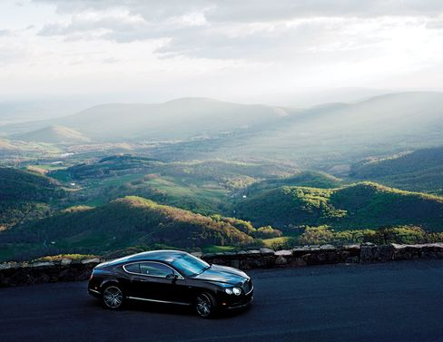 Bentley's Continental GT Speed coupe is a smooth ride for Skyline Drive.