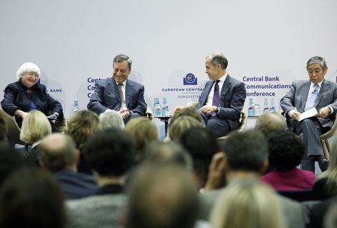 ECB Conference On Central Bank Communications