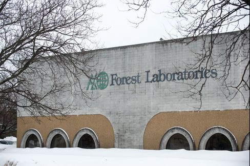 A Forest Laboratories Facility Stands in Hauppauge