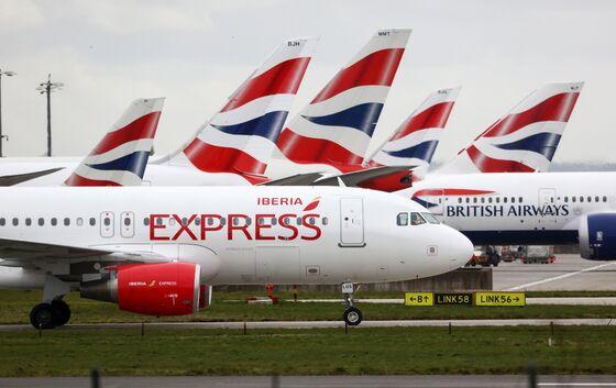 British Airways Owner Subdued on Impact of U.K. Travel Restart