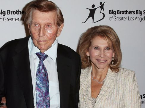 Sumner Redstone and Shari Redstone.