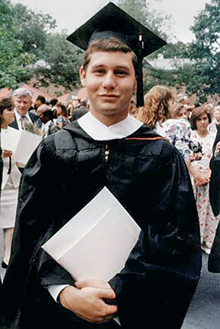 Sigelman graduates from Princeton in 1993