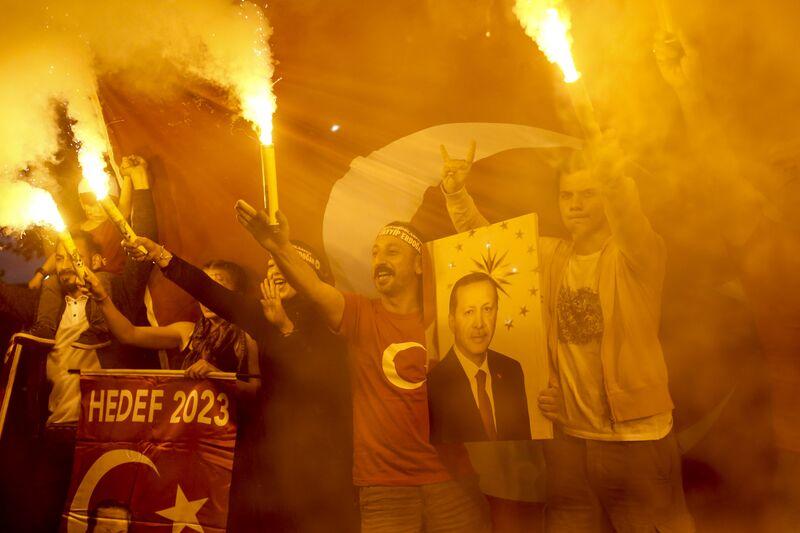 Erdogan declares victory in Turkey's elections