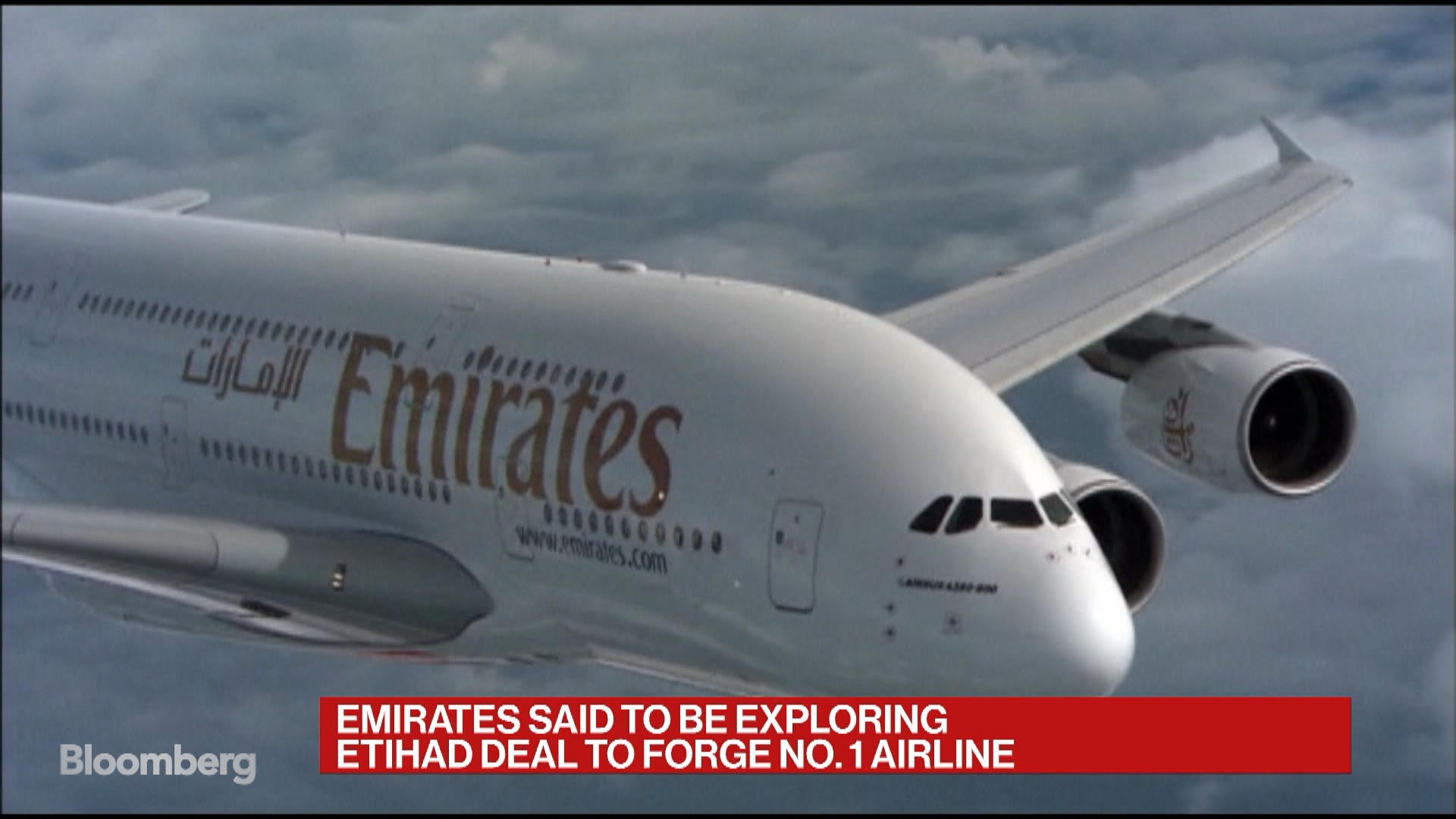 Emirates Is Said to Explore Etihad Deal to Forge Biggest