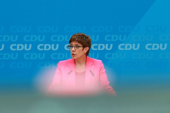 Merkel's Awkward Heir May Never Live Down Brush With Extremists