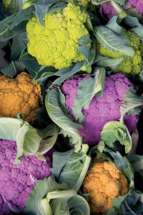 Cauliflower from Passard's potager.