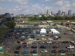 A drive-throughCovid-19 testing site in Covington, Kentucky, on Sept. 8.