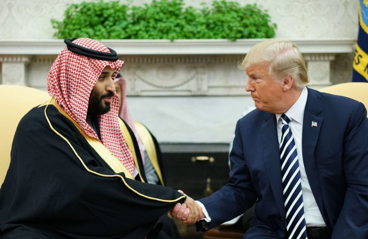 Trump Is Cornered by the Saudi Drone Attacks