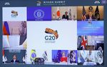 Leaders gather for a virtual G20 summit on Nov. 21