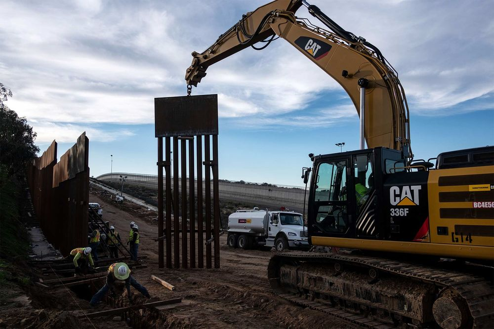 Trump Border Wall Construction Kept on Hold by Appeals Court